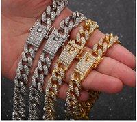Cross border e-commerce chain supply wholesale Chaoren jewelry hip hop accessories dense diamond Cuba hiphop manufacturers direct sales