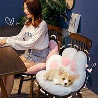 Cushion Decorative Pillow 2021 Cushion Cat Pad Armchair Seat Office Chair Desk Back Massage Cartoon