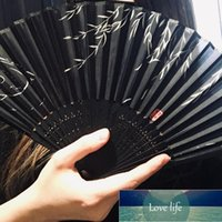 7 Inch Silk Cloth Blank Chinese Japanese Folding Fan Wooden Bamboo Antiquity Folding Fan For Calligraphy Painting Home Decor