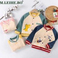 Bambino bambino bambino ragazzi ragazze vestiti carino pile inverno caldo giacca da bambino casual da baseball uniforme giacca tuta sportiva cappotto per bambini H0901