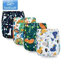 Eezkoala Eco-friendly Big XL Copertura pannolini per bambini 2 anni e più anziani, Diaper Dry-Dry Diaper Adatto a vita 36-58 cm Baby H0830