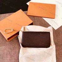 5а качественные подлинные кожаные держатели кошельки маленькие роскоши дизайнеры мода сумочка мужчины бесплатные женские монеты карты черные ампбски мини-кошельки ключевой карманный внутренний слот
