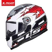 Nouveau FF358 Homme de casque de moto FACE FACE FACE FEMMES Racing Casque Capacete LS2 Cascos Para Moto Certification ECE