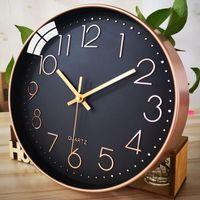 Wall Clocks Clock Living Room Personality Creative Modern Minimalist Atmosphere Watch Fashion Quartz Home
