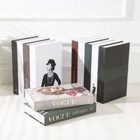 Açılabilir Sahte Ev Dekor Kitap Dekorasyon Saklama Kutusu Sehpa Aksesuarları Modern L0323