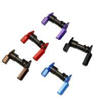 اللعب بندقية الادسنس التكتيكية .223 5.56 محدد سلامة الأمان التبديل MIL-SPECE الصلب ل AR15 لعبة مسدس الملحقات