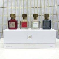 Francener Francis Parfum Baccarat Rouge 540 Perfume Oud Satin Mood A La Rose Fragrance EDP دروبشيبينغ 70 ملليلتر و 30 ملليلتر * 4 قطع العطور مجموعة تسليم سريع