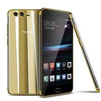 Étui de TPU doux d'EletroPlate de 200pcs pour Huawei Honor 20 PRO Note 10 Lite V20 8C 8S 9x 8x Max 8A Jouer 20i 3 en 1 Slim Cover