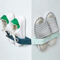 Пластиковая Полка для обуви Стенд Шкаф Дисплей Организатор Настенный Стена Космический Космический Космический Обеспечение Степень Художественное Держатель Creative20 Шкаф для одежды S