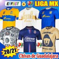 2020 2021 Liga MX Tigres Uanl Club Dünya Kupası Futbol Formaları Chivas De Guadalajara 115 Yıl Eve Uzakta Üçüncü ESPORTS 20/21 UNAM Leon Maç Öncesi