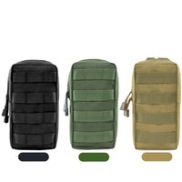 Outdoor Bags Molle Pouch 600D Update Hunting Backpack Accessory Tactical Utility Bag With D-Ring Vest Waist Pack Muti-function