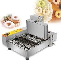Gıda İşleme Ticari Elektrikli 6 satır Mini Çörek Makinesi Küçük Çörek Makinesi