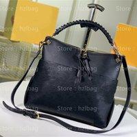 Maida Hobo Cross Body Bag M45522 Luxurys Designers Sacos Embossed Greened Cowhide Leather Toe Bag M45523 Funcional Zipped Hobo Bag