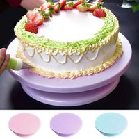 Baking & Pastry Tools Plastic Cake Rotary Table DIY Stand Turntable Rotating Tool Kitchen Supplies