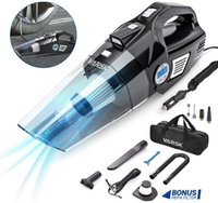 デジタル圧力計のLCDディスプレイとLEDライトタオルが付いているタイヤのインフレータの携帯用空気圧縮機車の掃除機