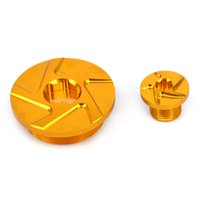 CNC Billet Engine Timing Plugs Bolts For DRZ400R DRZ400S DRZ400SM Z250 LTR 450