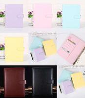 الإبداعية للماء macarons الموثق اليد دفتر الأستاذ قذيفة فضفاضة ورقة مذكرات القرطاسية مدرسة DHB9072