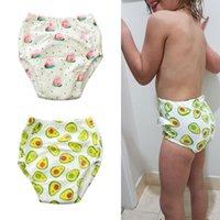 Doek luiers 1 st Leuke baby potje training broek luiers voor peuter jongens meisjes katoen slipje wasbaar herbruikbare 4 lagen