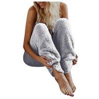 Женщины сплошные плюшевые зимние флисовые теплые брюки брюки вскользь женские моды спортивные леггинсы уличная одежда 2021 леггинсы женские капризы