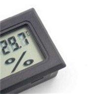 Nuevo Negro / Blanco FY-11 MINI LCD Digital Termómetro Termómetro Higrómetro Humedad Medidor de temperatura en la habitación Refrigerador Icebox 328 S2