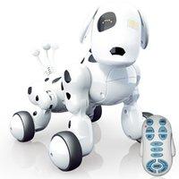 2.4 جرام اللاسلكية الذكية التحكم عن الروبوت الكلب الرقص الإلكترونية الموسيقى التعليمية اللعب التفاعلية اللعب للأطفال 210326