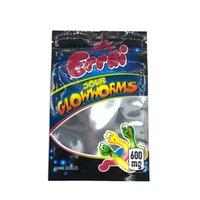 Factory smell proof resealable zipper trlli Edible packaging mylar bags errlli gummies