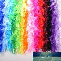 2M Multi Color Fulluffy Handcraft Seastrich People Plume Boas Sharf Одежда для свадьбы День Святого Валентина День Украшения Танц