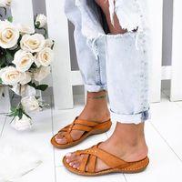 Slippers Design Women Comfy Platform Sandal Bunion Corrector Shoes Feet Correct Flat Sole Orthopedic Flip Flops Foot Care