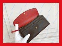 Kadın cüzdan çanta kadın orijinal kutusu yüksek kaliteli moda cüzdanlar 60136