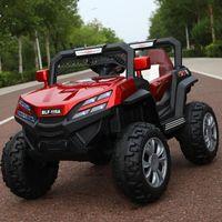Детские электрические автомобили Четырехкомнатный привод 0-6 лет Дети RC Riding Toy Toy Off-Road Cars 12V Автомобиль для езды на наборах подарков