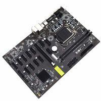 Contrôle de la maison intelligente B250-BTC 12GPU Miner de la carte mère Ethereum Mining 12 PCI-E LGA1151 DDR4 100% Test USB3.0 Rig BTC ETH