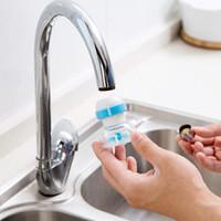 Purificateur d'eau domestique pour le robinet d'eau du robinet de cuisine pour robinet à domicile Purificateur de filtre à eau 2.5 * 5 * 6.5cm 2125 v2