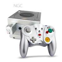 لعبة مكعب لاسلكي تحكم NGC عصا التحكم Gamepad Joypad لمضيف نينتندو ومتوافق مع Wii Console Games DHL