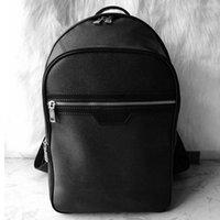 4 colores de calidad superior de calidad Carry On Backpack Mens Fashion School Bags Bolsa de viaje de lujo, Duffel negro