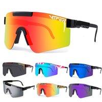 Original Pit Viper Cycling Glasses TR90 MTB Bicycle Eyewear Windproof Ski Sport Polarized UV400 Sunglasses For Men Woman
