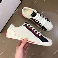 Gucci Shoes الأزياء وهمي الرجال الأحذية الرياضية الفاخرة الكلاسيكية منخفضة أعلى عارضة أحذية اللون مطابقة مخطط المطاط وحيد الجلود الدانتيل متابعة مصمم الأحذية