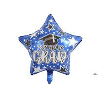 newBalloon Party Ceremony Atmosphere Decoration Graduation Season Aluminum Film Balloons Classroom Scene Decor 50pcs Lot EWD5926