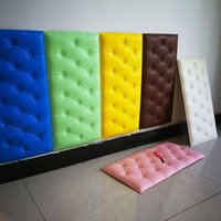 Wallpapers 30*60cm 3D DIY Wall Panels Foam Sticker For Soft Bag Tiles Home Decor Leather Waterproof Self Adhesive Wallpaper Kids Room