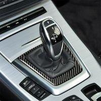 Garniture de couverture de cadre de cadre de décalage de vitesse pour BMW Z4 2009-2015 Autocollants de voiture C