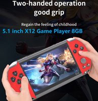 X12 Game Player 8GB Memory Portable Video Game Consoles with 5.1 inch Color Screen Display Support TF Card 32gb MP3 MP4 MP5 Player