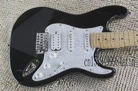 New Arrival!!! Electric Guitar, Fat Strat Guitar, High Quality ST Electric Guitar black @20