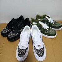 Dior x Nike Air Force 1 Low AF1 pelle bassa taglia uno 1 scarpe casual bianche Black Dunk Dunk Sport Skateboard Skateboard classico Scarpe da ginnastica Sneakers alti 36-45 do