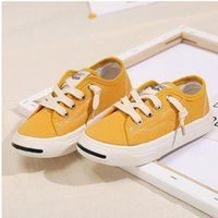 Sneakers Kids Shoes Canvas Toddler Baby Girl Unisex Solid Color Casual Flat For Children