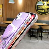 Luxury Glitter Mirror Phone Cases with Holder for iPhone XS XR 12 Pro Max Samsung S21 Plus S20 Ultra Case
