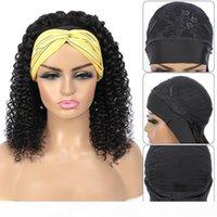 1-2-5 stücke Tiefwelle Headbang Perücken Menschliche Haarperücke Remy Jarin Perücke Jerry Curly 150% Dichte Natürliche Farbe für Frauen