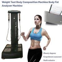 Analizador de composición corporal Máquina de análisis de texto de grasa Bodybuilding Peso Pruebas GS6.5C Elementos de cuerpo humano Equipos de análisis