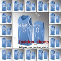 Mens Karl-Anthony Towns DAngelo Russell Andrew Wiggins City Blue Sky Edition New Uniform HardwoodsClassics Basketball Jerseys Shirts Sweatpants