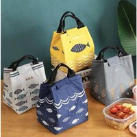 Storage Bags Lunch Box Handbag Thickened Aluminum Foil Heat Preservation Refrigerated Bag Office Worker Picnic