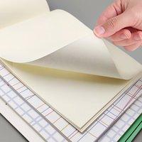 Scribing Bloc de notas B5 Color engrosado Cálculo en blanco Nota Kraft Papel Student Exam Path