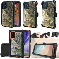 Hybrid Robot Crashproof Waterproof Defender Cases Phone Kickstand Shockproof Belt Clip Holster For iPhone 12 Pro Max 11Pro 7 8 Plus Galaxy Note 20 Ultra 10 With LOGO